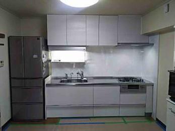 広く明るくなったキッチンに大満足です。お手入れもとてもしやすくなりました。