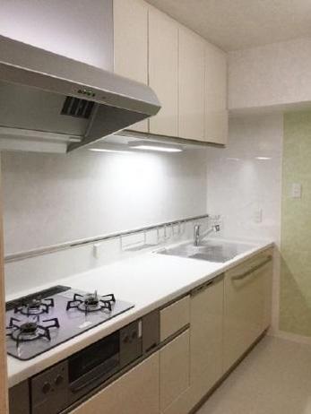 キッチンを取替えだけでなく、レイアウトも変更してもらい今まで使えなかった収納部分も使用できるようになりました。