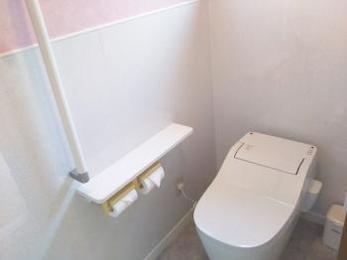 お掃除にこだわったトイレです♪