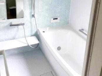 寒いタイルのお風呂?それ数日前の話ですよ。