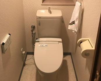 ボタン一つでトイレが流せちゃう!!