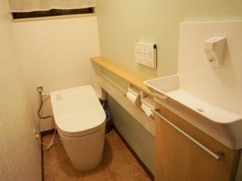 最新機能満載のトイレ!!