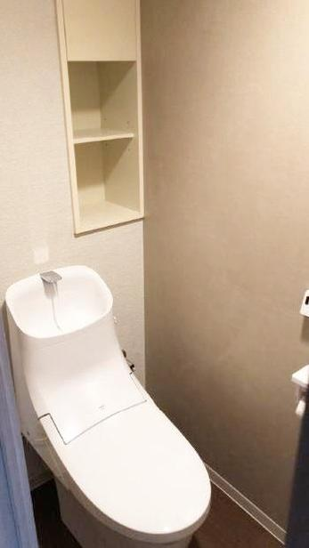 トイレから水漏れが…