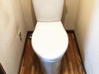 トイレのお掃除しやすくなりました!